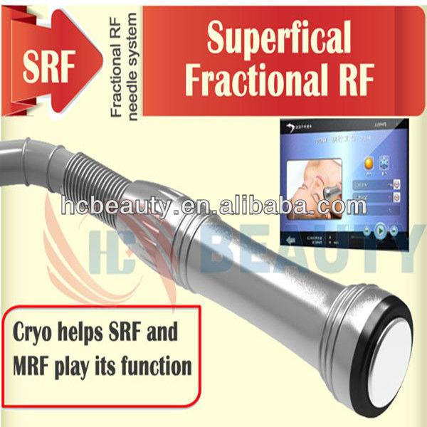 Spa equipment machine cryo therapy micro needle fractional rf beauty equipment