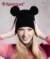 Шапка для девочек Holiday sale kids beanie winner cap fashion knitted cap kenmont KM-4804 HUT