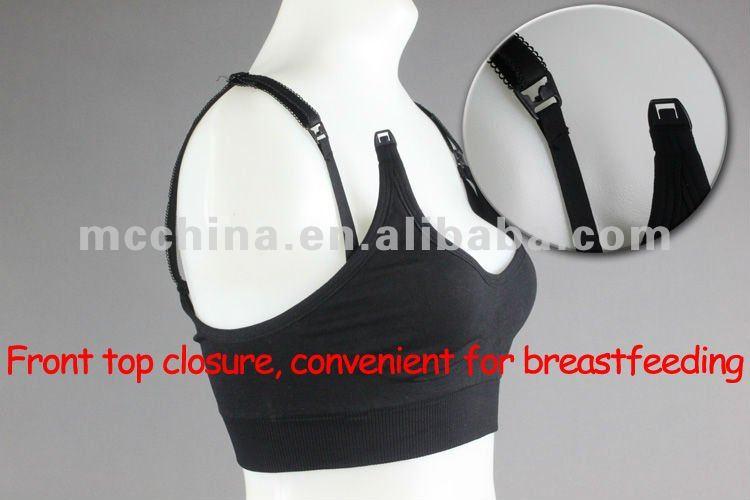 Seamless Comfort Pregnant Maternity Breast Nursing Bra/feeding Bra