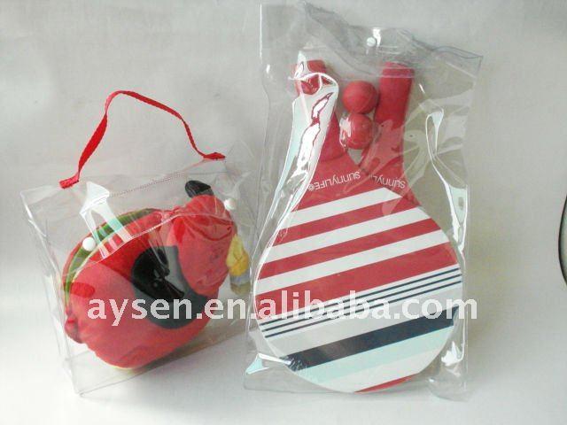 Пвх прозрачный пакет для теннисную ракетку