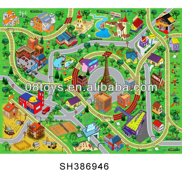 en plastique lavable voiture tapis de sol tapis b 233 b 233 tapis de jeu tapis de jeux id de produit