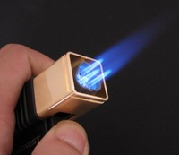 Зажигалка 5pcs/lot Honest507 Power Flame Torch Lighter Stormproof Butance Gas 3 Jet For Tobacco Pipe/Cigar Gift
