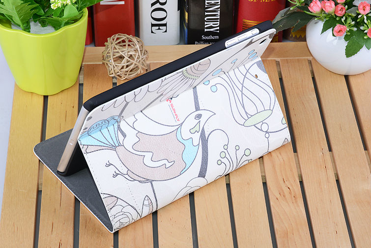 Leather cell phone case for iPad Mini 1/2 / Factory direct sublimation leather phone cases