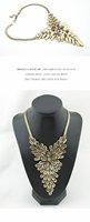 Колье-ошейник 41J44 Western Punk retro big crescent collar necklace Jewelry -cRYSTAL sHOP