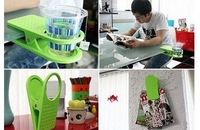 Wholesale!discount!creative table glass clamp / clip type cup holder / creative / gifts strange new products .free shipping
