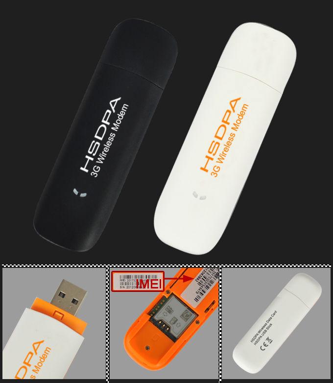 Mini Modem Usb 3G Desbloqueado 2G GSM Tim, Oi, Claro E Vivo