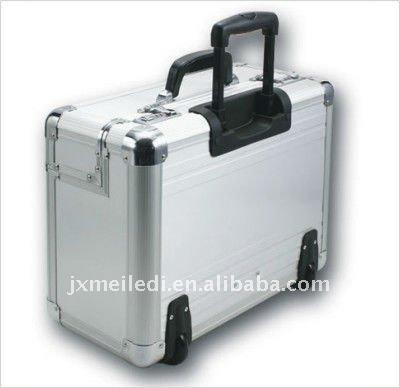 De aluminio caja de herramienta de la carretilla con - Caja herramientas con ruedas ...