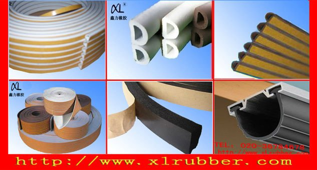 white rubber strip for construction10x35mm