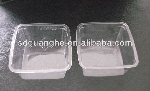 high quality pet disposable plastic food container