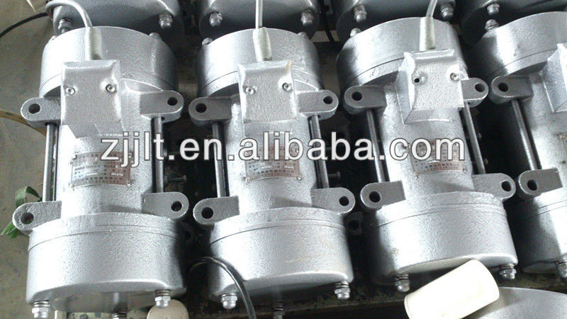china made vibrating motor installed on vibration isolation equipments