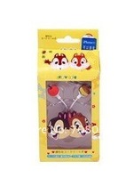 Наушники Cute Cartoon In-ear Headset Earphone with Chip and Dale Design Clip for iPhone