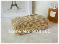 Вечерняя сумка new diamond Peacock luxury noble women dress evening clutch bags/party handbags