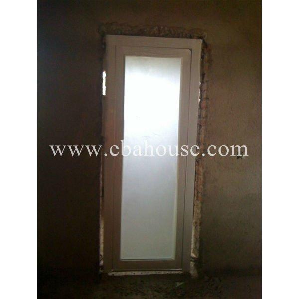 Marcos De Aluminio Para Puertas De Baño:marco de aluminio de vidrio esmerilado cuarto de baño de la puerta