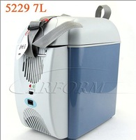 Холодильник Hot sell! EMS! NFA 7L icebox, Mini car refrigerator/cooler and warmer box.Blue and white color.5229-NFAzer
