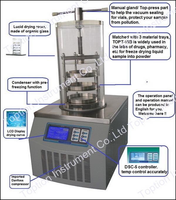 5. Freeze Dryer%5.1.2 TOPT-10B @xjt#4