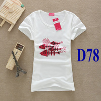 Женская футболка D88 New Brand Cotton T-shirt Snoopy Print Cartoon T Shirt Women Short Sleeve Clothes All Match Top Tee