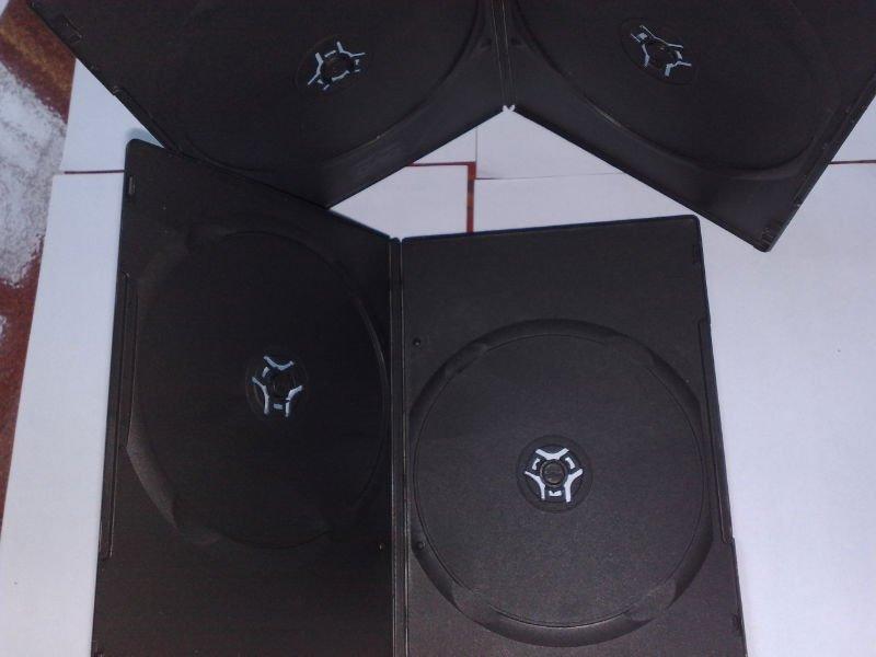 5MM double black dvd case