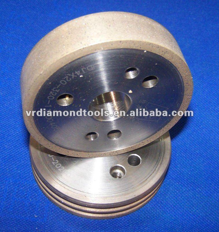 Metal Bond Flat Diamond Grinding Wheel For Glass