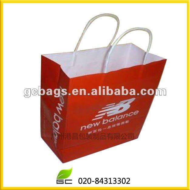 fornitore su ordinazione sacchetto di carta