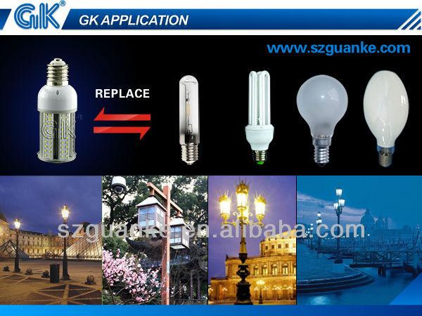 factory 100lm/w 12v 24v 12w solar led garden light