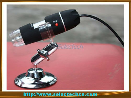 Most popular 500X Pixels Digital USB Microscope with Measure tool and 8 LED lights