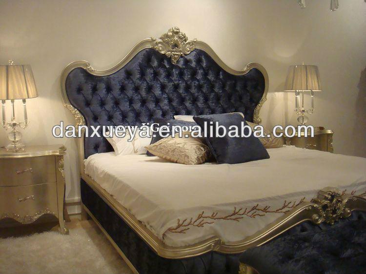 italie luxe classique couleur dore mobilier royal antique lgante king size meubles de chambre - Chambre A Coucher Royal Italy