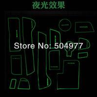 KIA Sportage luminus non-slip pad,door tank pad, rubber door gate slot mat, tank gasket , cup mat/pad, free shipping