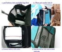 Холодильники и морозильные камеры Healthcare Portable Insulin Cooler Kit Mini Multifunctional Cooler Box Small Refrigerator
