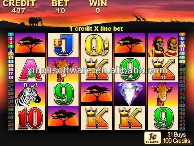 100 lions slot machine applications corp