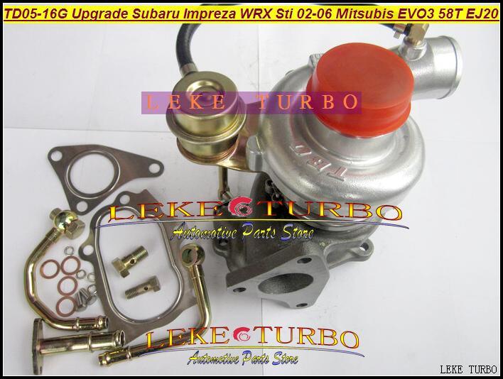 TD05-16G TD05H-16G 49178-06310  for Upgrade Subaru Impreza WRX Sti 02-06 Mitsubishi EVO III 58T EJ20 Turbo Turbine Turbocharge (5)