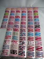 Детский аксессуар для волос Lots ~ Fashion Cartoon Hello Kitty Hair Clip 10 Packet 60 Pairs