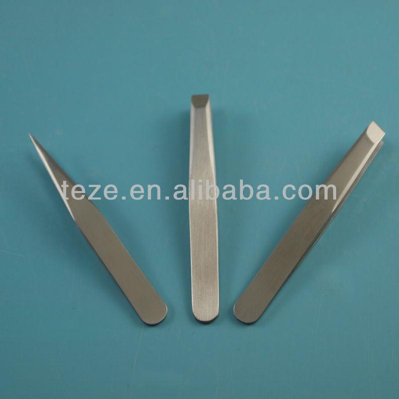 MJ-80 5cm Stainless steel mini slant tweezers