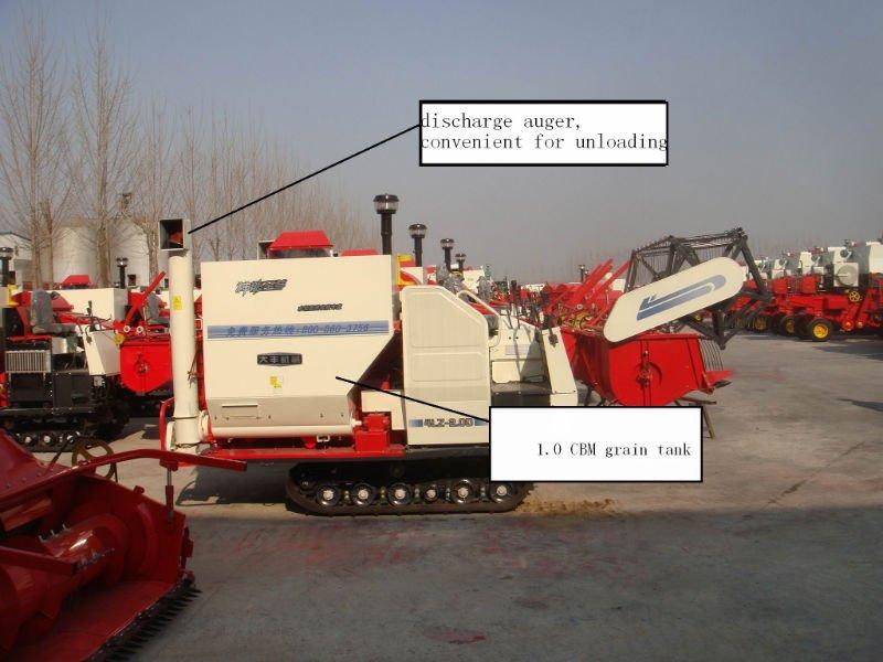 4LZ-2.0D rice combine harvester
