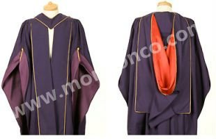 University Graduation Gown for Graduates in British, Australia other European Countries