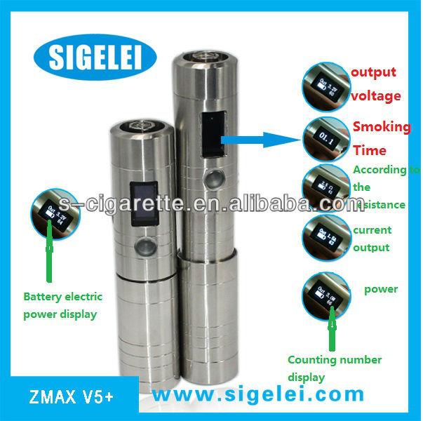 Upgraded version sigelei telescope zmax v5 huge vapor vmax vv mod vamo vv vw mod AVP Sigelei Zmax v5