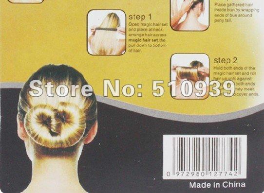 =2pcs) fashion hair band, hair clips, hair accessories as seen on TV