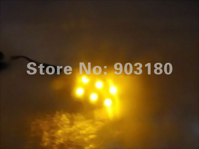 5pcs/lot DC12V LED car Light, 6LEDS 5050SMD reading dome light, 108LM,LED car lamp, automotive supplies , free shipping