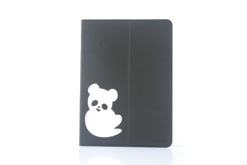 leather case for ipad air,panda design leather case for ipad air