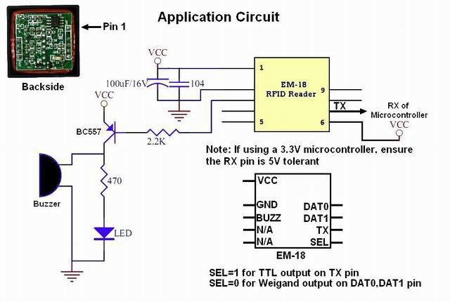 Em18 - 125 кГц