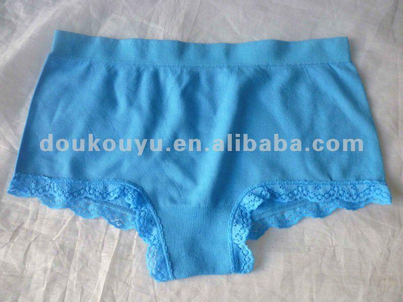ladys sexy seamless laced panty