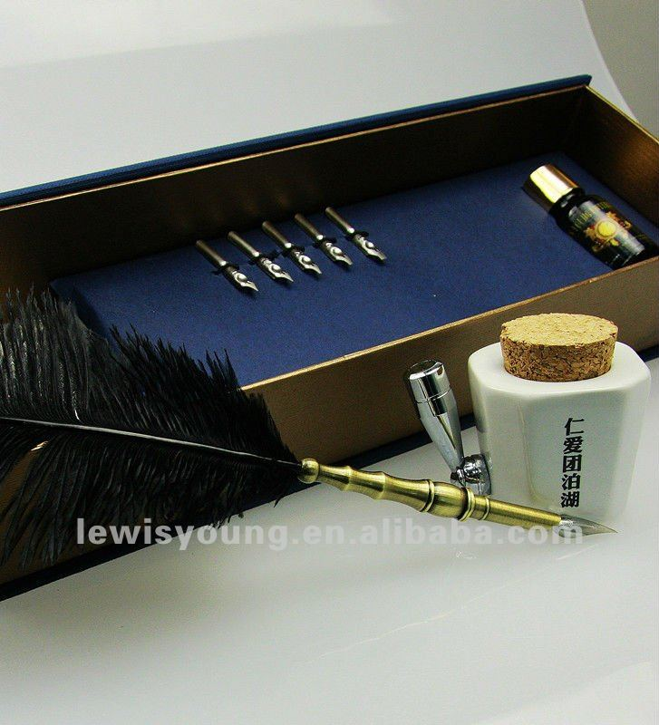 Fountain Pens With Feather Feather Fountain Pen Gift