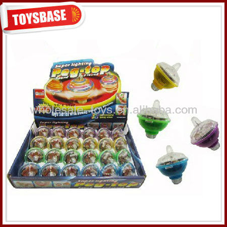 Promotional spinning top