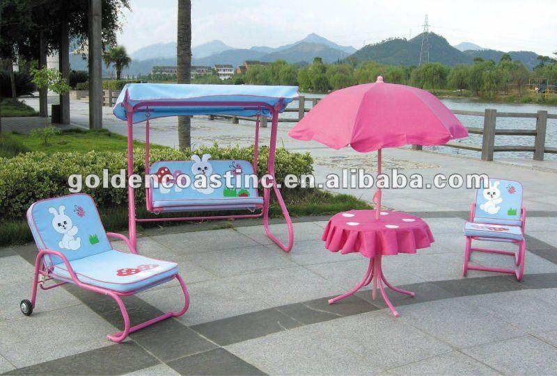 Modern Patio Furniture ... - Dream From The Heart 4 Piece Patio Set Kids 39 Rooms Walmart