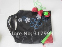 Сумка для шоппинга 10pcs/Lot Foldable Strawberry Shopping Bag Several Colors E011