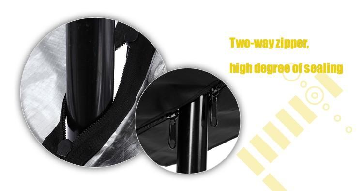 Hpusn צילום סטודיו פלאש אור מטריה Softbox 70 סנטימטר x 70 סנטימטר עם מפזר בד שקוף כסף נייד reflecter
