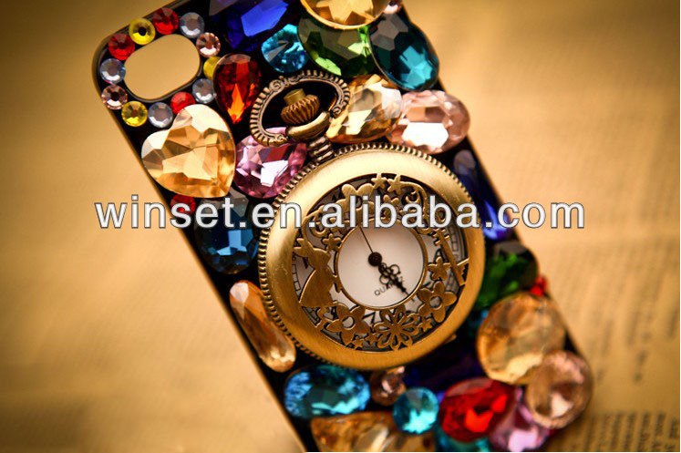 """fashion cellphone case for iphone 5"""" case bling diamond"""