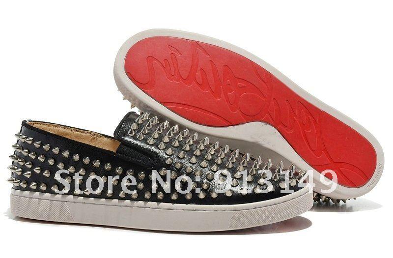 christian louboutins replica - Aliexpress.com : Buy 2015 Red bottom men\u0026#39;s shoes Rollerboy Spike ...