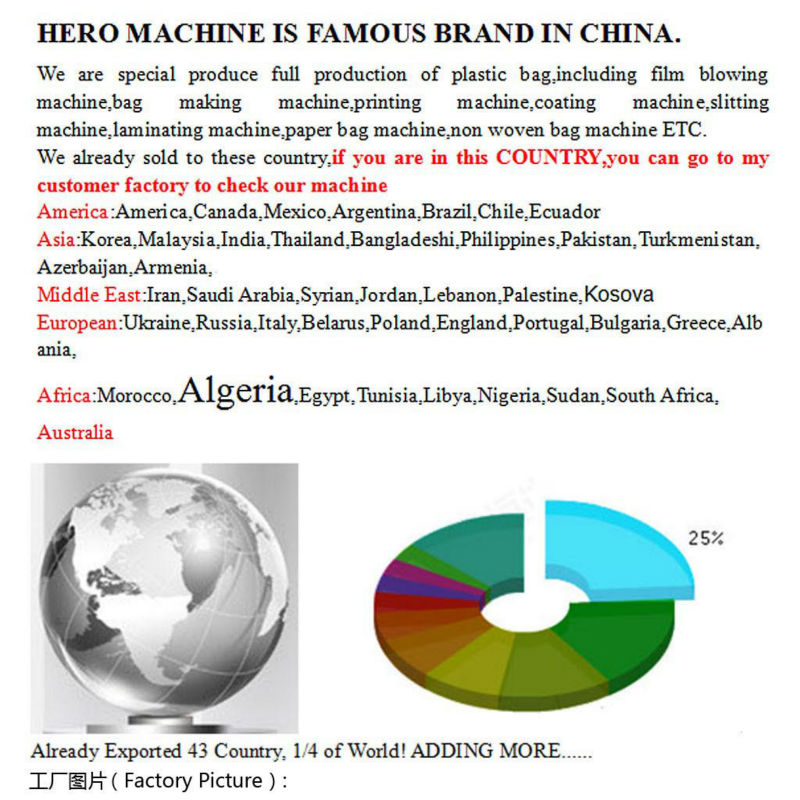 Hero Brand Plastic Film Recycle Machine