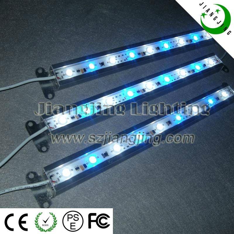 IP68 waterproof blue and white color aquarium18watt fish tank light