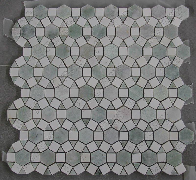flechtmuster calacutta wei em marmor mosaik fliesen mosaik. Black Bedroom Furniture Sets. Home Design Ideas